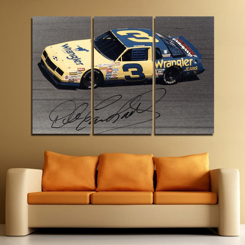 3Pcs Dale Earnhardt Sr. Canvas 1