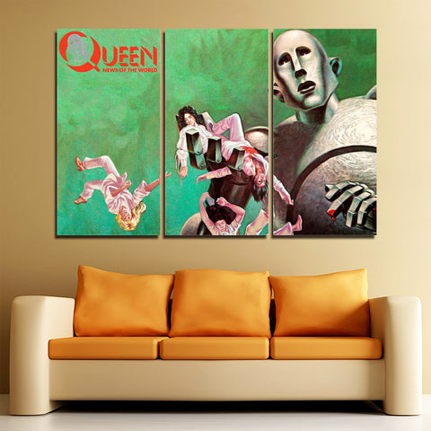 3Pcs Queen Canvas 1