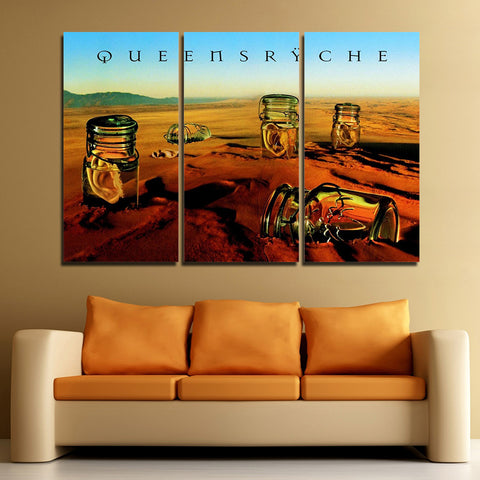3Pcs Queensryche Canvas 1