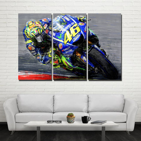 3Pcs Rossi Canvas 1