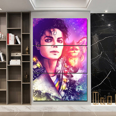 3Pcs Michael Jackson Canvas 1