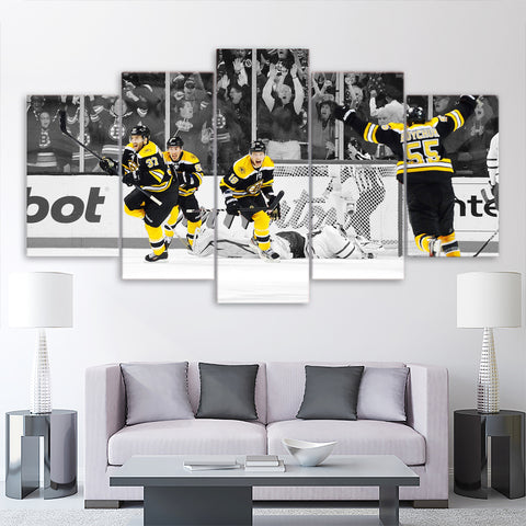 5Pcs Boston Bruins Canvas 2