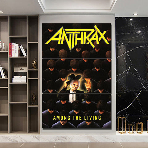 3Pcs Anthrax Canvas 2