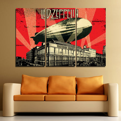 3Pcs Led Zeppelin Canvas 2