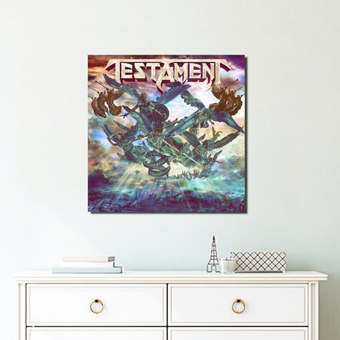 1Pcs Square Testament Canvas 3