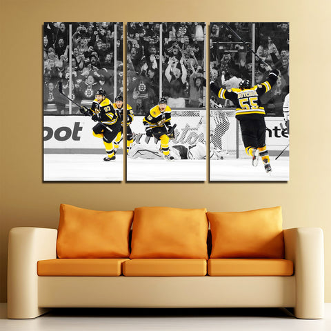 3Pcs Boston Bruins Canvas 3