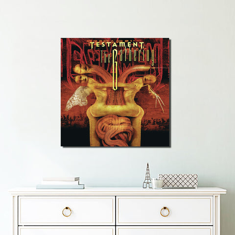 1Pcs Square Testament Canvas 4