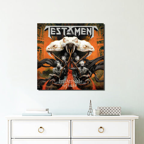 1Pcs Square Testament Canvas 5