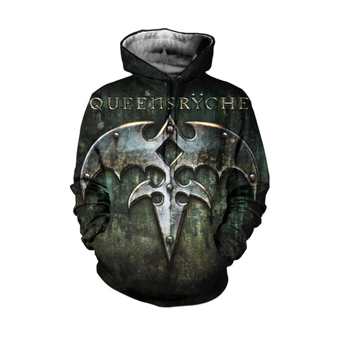 Queensryche 3D Allover Printed 4