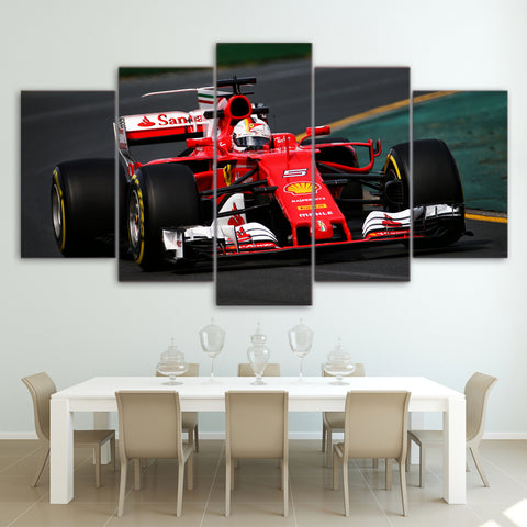 5Pcs Vettel Canvas 1