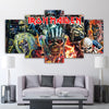 Image of 5Pcs Iron Maiden Canvas 1