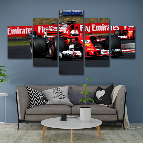 5Pcs Vettel Canvas 2
