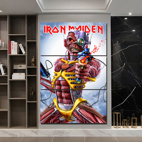 3Pcs Iron Maiden Canvas 2