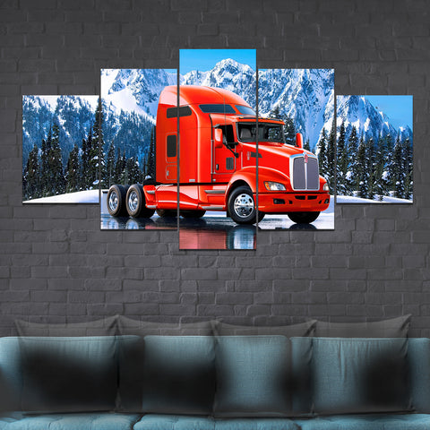 5Pcs Kenworth T660 Canvas 6