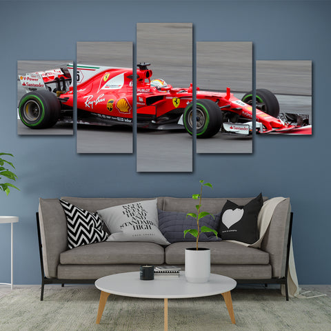5Pcs Vettel Canvas 3