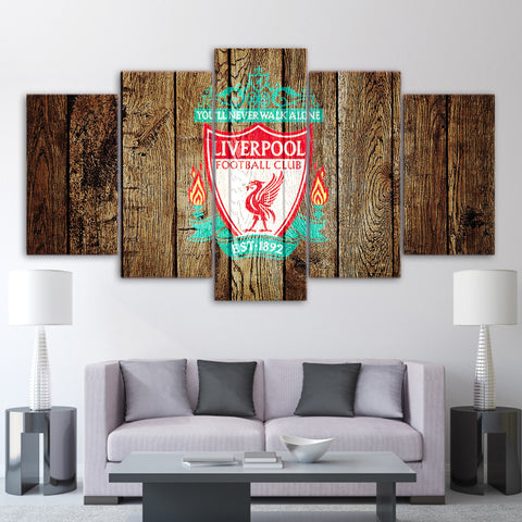 5Pcs Liverpool Canvas 2