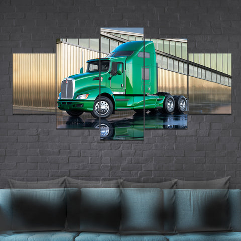 5Pcs Kenworth T660 Canvas 7