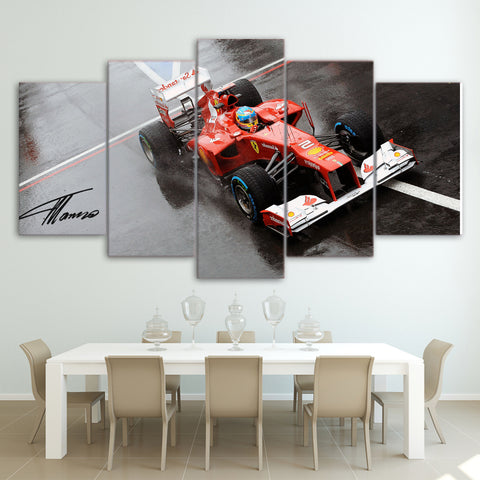 5Pcs Alonso Canvas 4