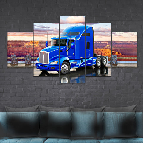 5Pcs Kenworth T660 Canvas 8