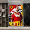 Image of 3Pcs Vettel Canvas 5