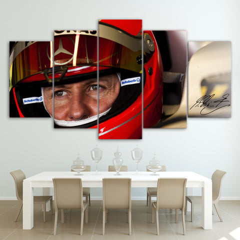 5Pcs Schumacher Canvas 5
