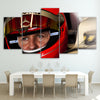 Image of 5Pcs Schumacher Canvas 5