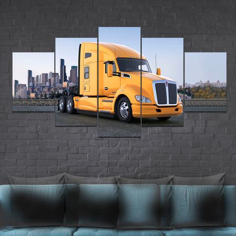 5Pcs Kenworth T680 Canvas 5