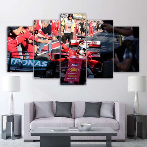 5Pcs Vettel Canvas 6