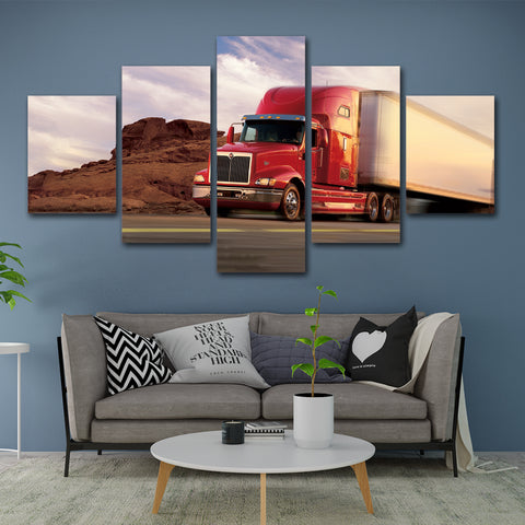 5Pcs International TranStar Canvas 6