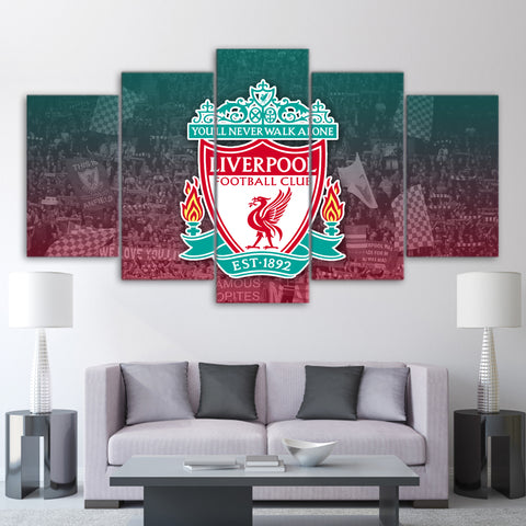 5Pcs Liverpool Canvas 1