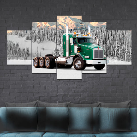 5Pcs Kenworth T800 Canvas 3