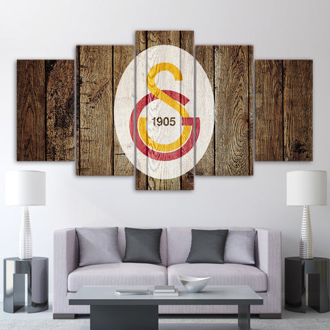 5Pcs Galatasaray Canvas 2