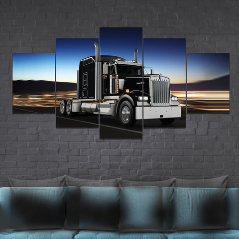 5Pcs Kenworth W900 Canvas 1
