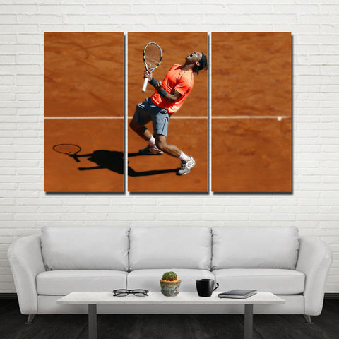 3Pcs Nadal Canvas 9