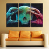 Image of 3Pcs In Flames Canvas 1