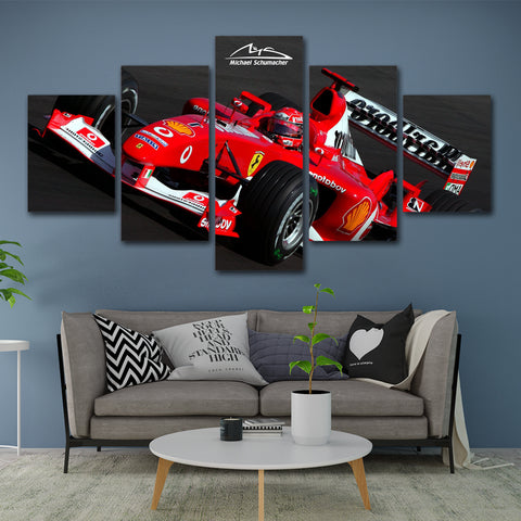 5Pcs Schumacher Canvas 1
