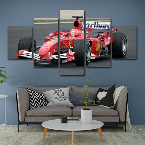 5Pcs Schumacher Canvas 2