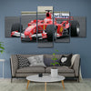 Image of 5Pcs Schumacher Canvas 2
