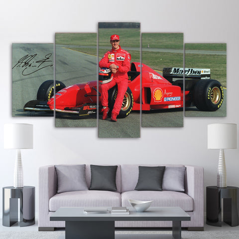 5Pcs Schumacher Canvas 3