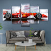 Image of 5Pcs Schumacher F1 2002 Car Canvas 4