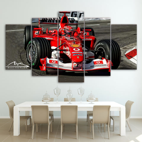 5Pcs Schumacher Canvas 6