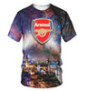 Image of Arsenal 3D Allover Printed 1
