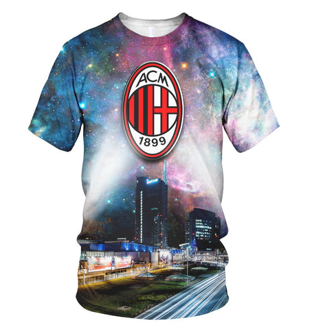 AC Milan 3D Allover Printed 1