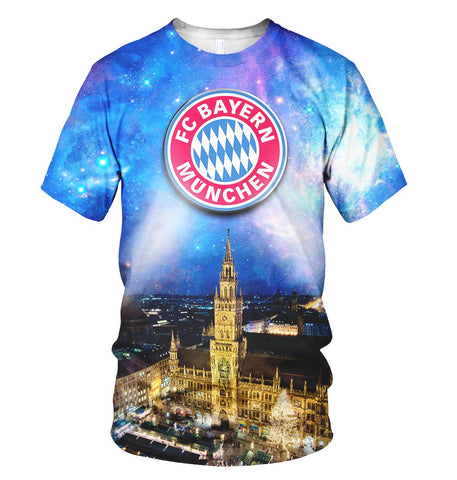Bayern Munich 3D Allover Printed 1