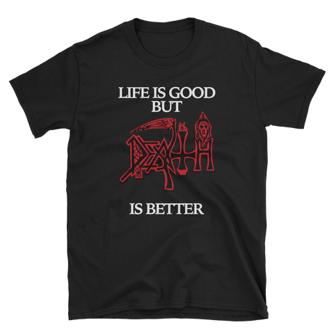 Death T-Shirt Black