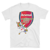 Image of Arsenal Dabbing Unicorn T-Shirt