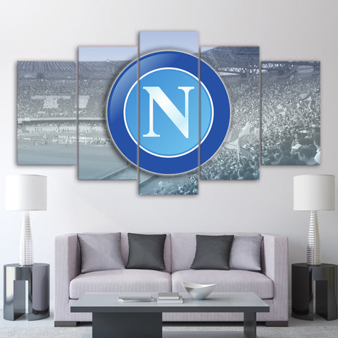 5Pcs Napoli Canvas 1