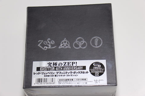 Led Zeppelin 40th Years Anniversary 12 CDs Box Set