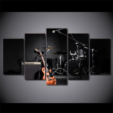 5Pcs Drum Kit Canvas 2