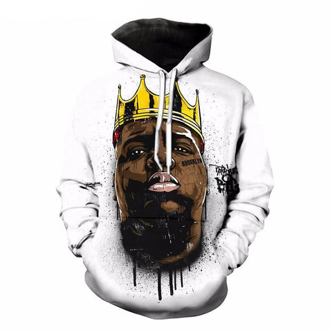 The Notorious BIG 3D Allover Printed Hoddie